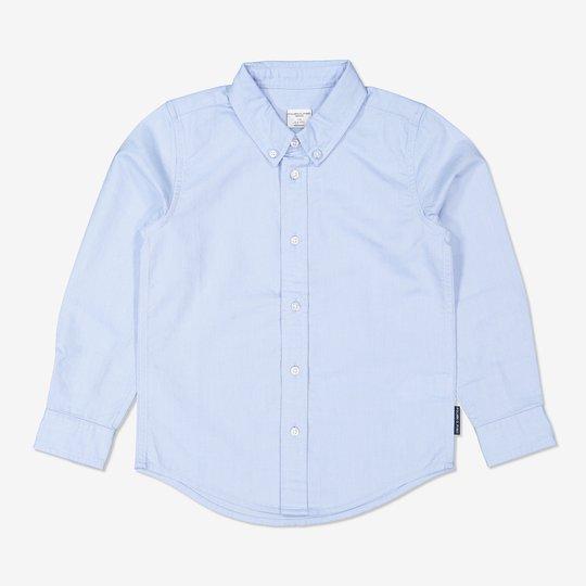 Oxfordskjorte lysblå