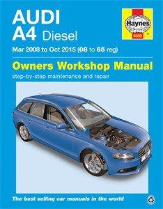 Haynes Reparationshandbok, Audi A4 Diesel, Universal