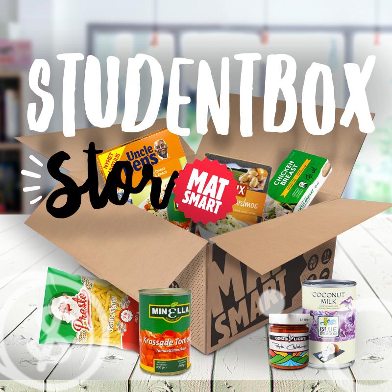 Studentbox Stor + Fri Frakt - 56% rabatt