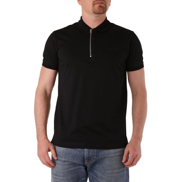 Diesel Men's Polo Shirt Black 283923 - black XS