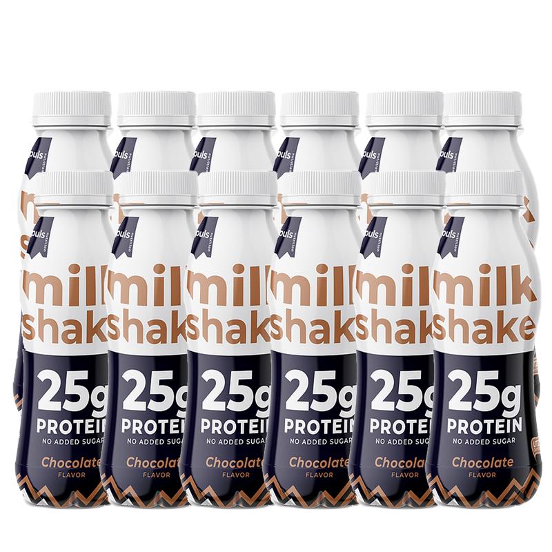 Proteiinijuomat Suklaa 12kpl - 50% alennus