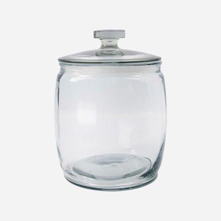 Oppbevaringsglass Ville Klar 23 x 28 cm
