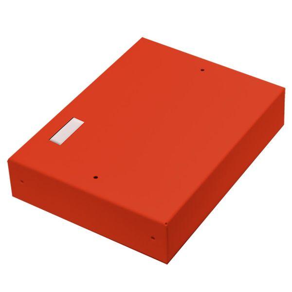 Alarmtech 3203.03R Kytkentärasia avoin, merkintälaatalle 3 moduulille