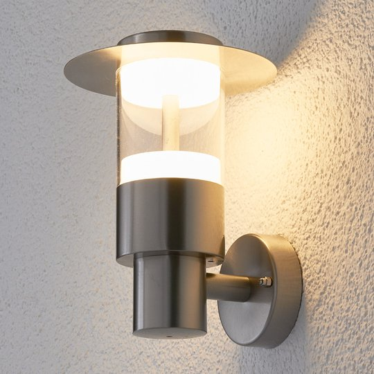 LED-ulkoseinävalaisin Anouk ruostum. teräksestä