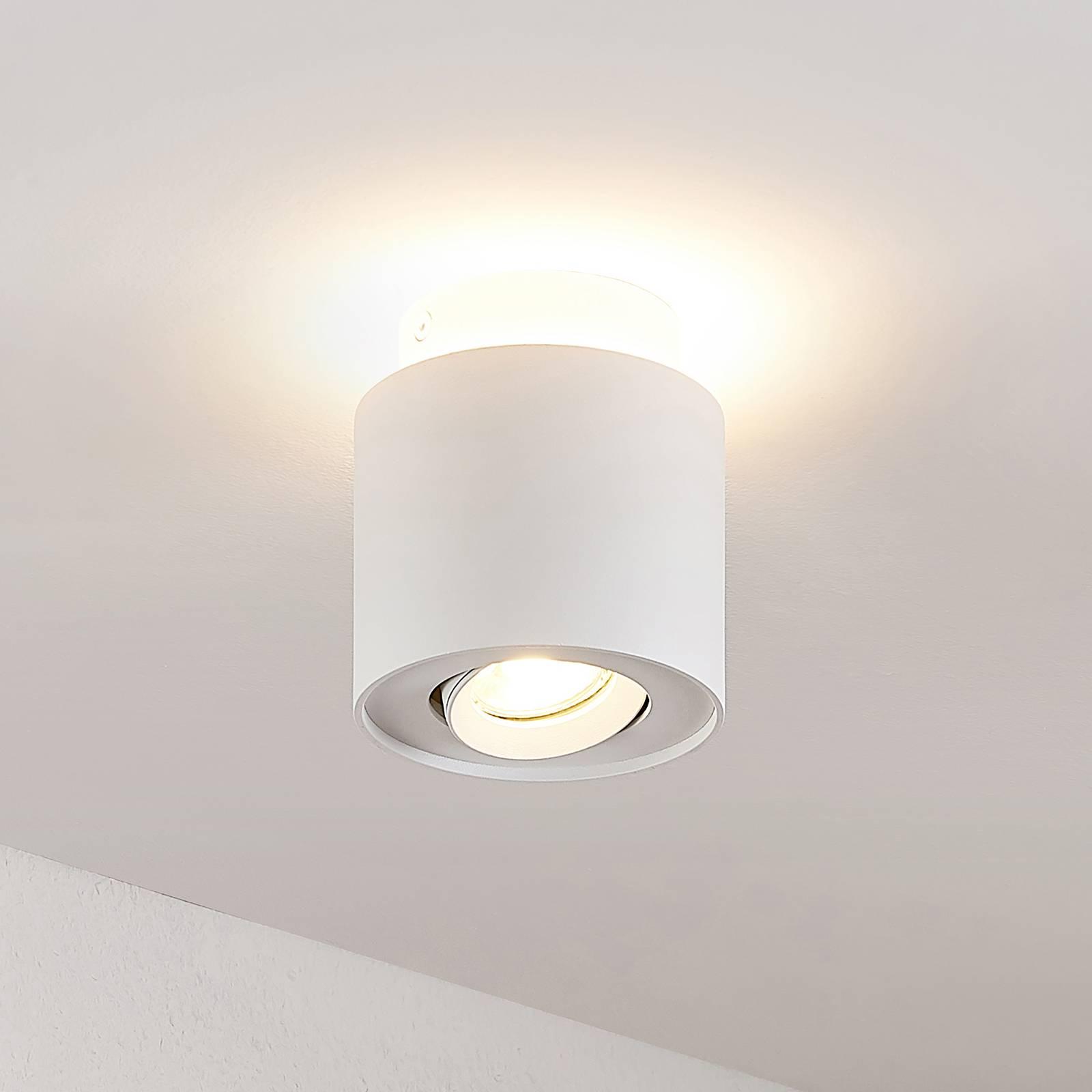 Arcchio Walisa-LED-kattovalaisin, pyöreä valkoinen