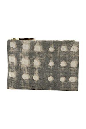 Sminkepung Dots 23x16 cm - Grå