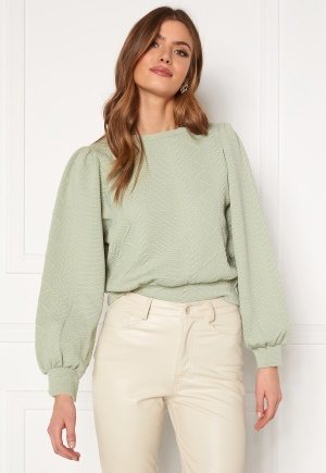 ONLY Cable L/S O-Neck Swt Desert Sage XL