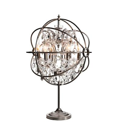GYRO Table Lamp Natural/Crystal