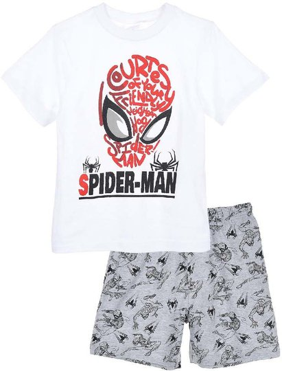 Marvel Spider-Man Pysjamas, White, 3 År