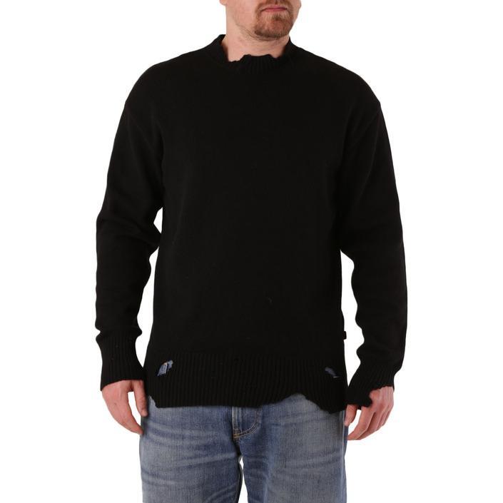 Diesel Men's Sweater Black 312645 - black L