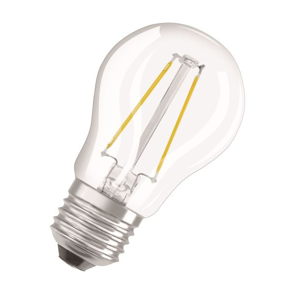 Osram PARATHOM Retrofit CLASSIC P DIM LED-lampe 2700K, E27 klar, 1,5 W, 136 lm