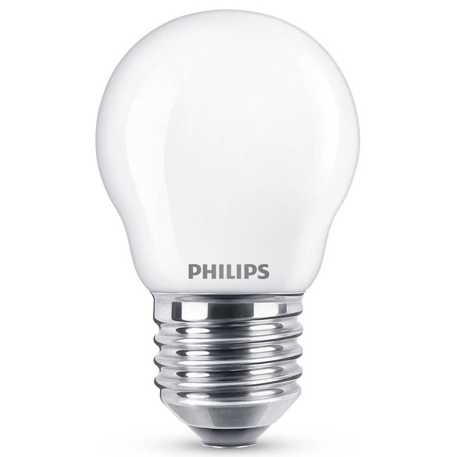 LED-pisaralamppu E27 2,2W lämmin valkoinen, opaali