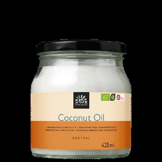 Neutraalinmakuinen kookosöljy Luomu, 425 ml