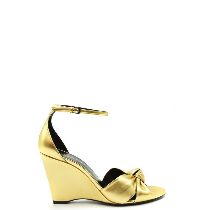 Saint Laurent Women's Sandal Gold 179550 - gold 36.5