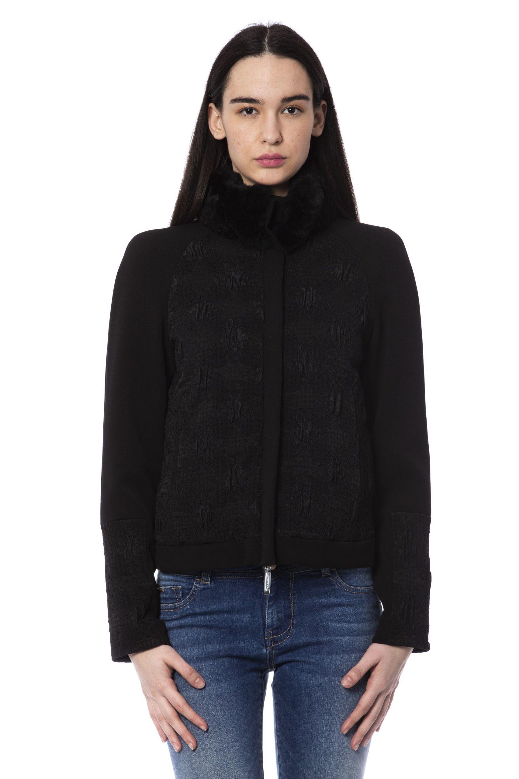 Byblos Women's Jacket Black BY853430 - IT40 | XS