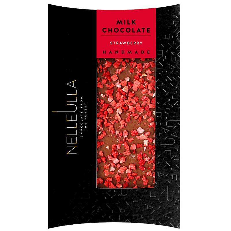 "Mjölkchoklad ""Strawberry"" 80g - 67% rabatt"