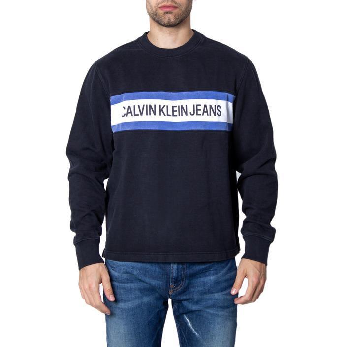 Calvin Klein Jeans Men's Sweatshirt Black 167980 - black XS