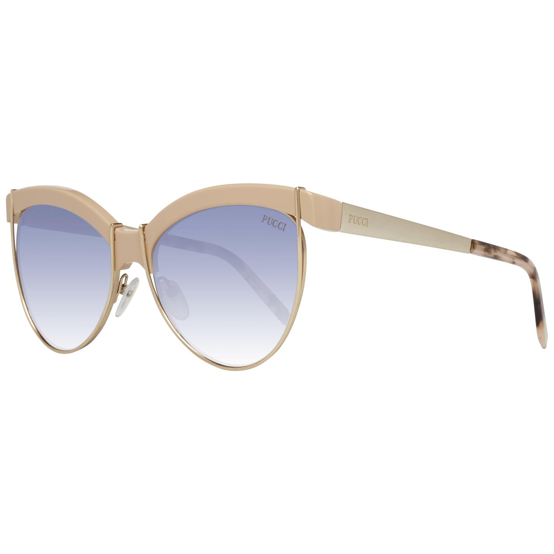 Emilio Pucci Women's Sunglasses Yellow EP0057 5774Z