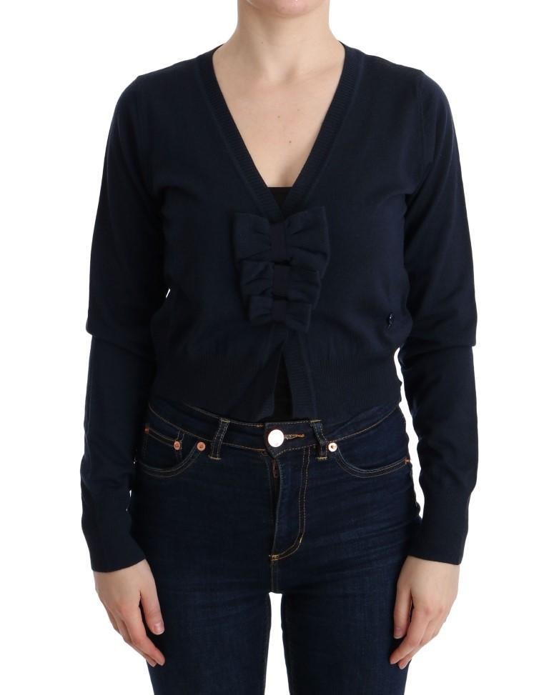 MARGHI LO' Women's Wool Sweater Blue SIG30149 - IT44|L