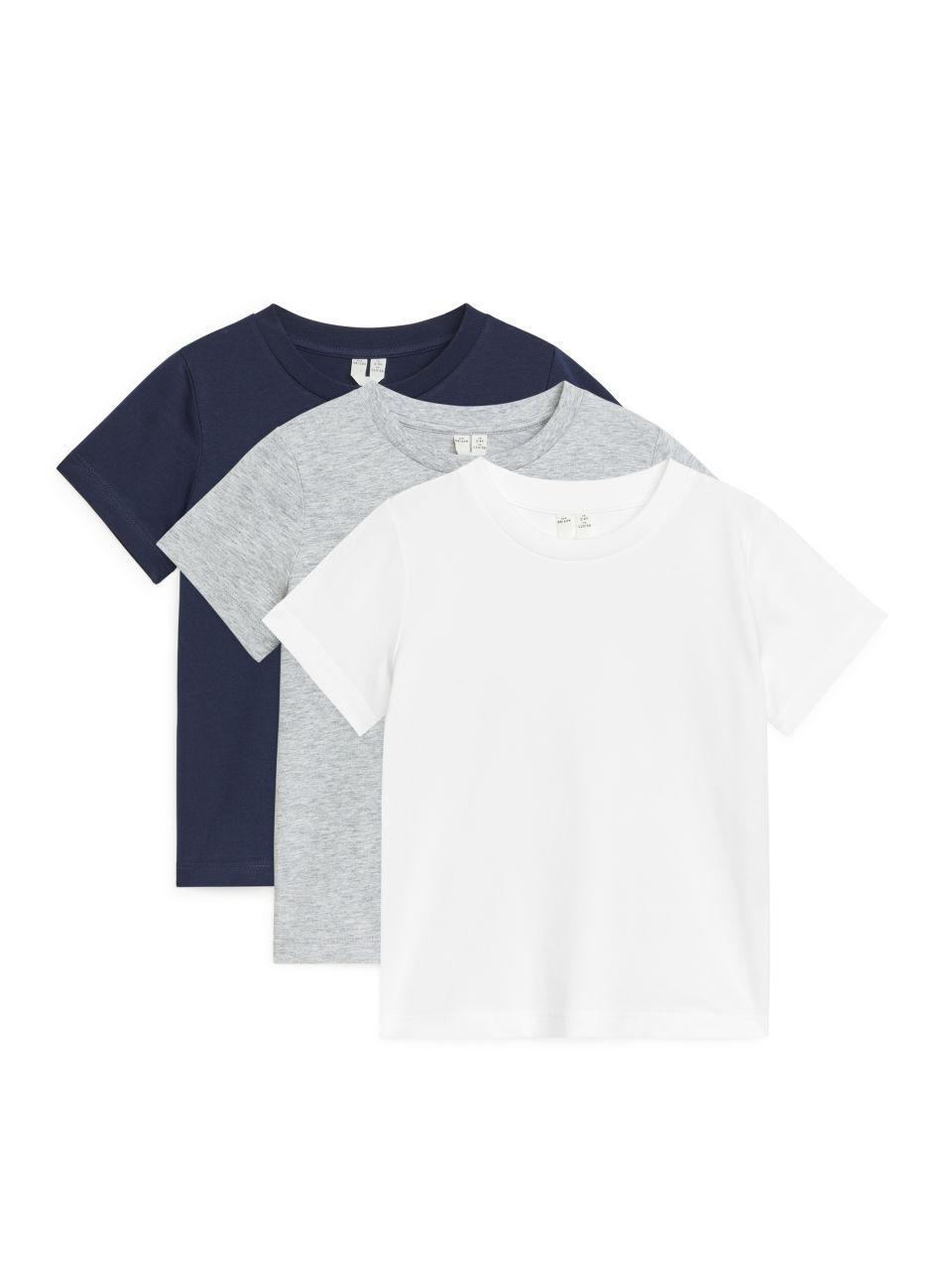 Crew-Neck T-Shirts - White