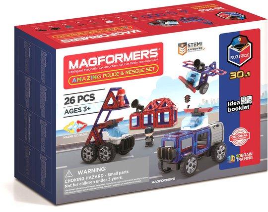 Magformers Byggesett Politi Og Redningstjeneste