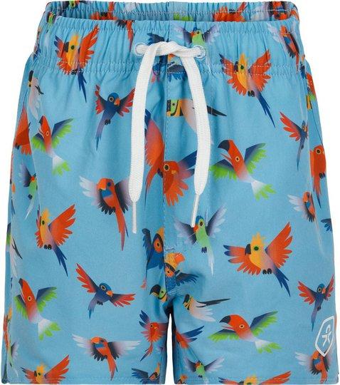 Color Kids Badeshorts UPF30+, Blue Fish, 104