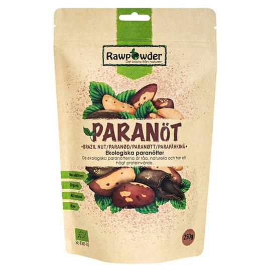 Rawpowder Ekologiska Paranötter, 250 g