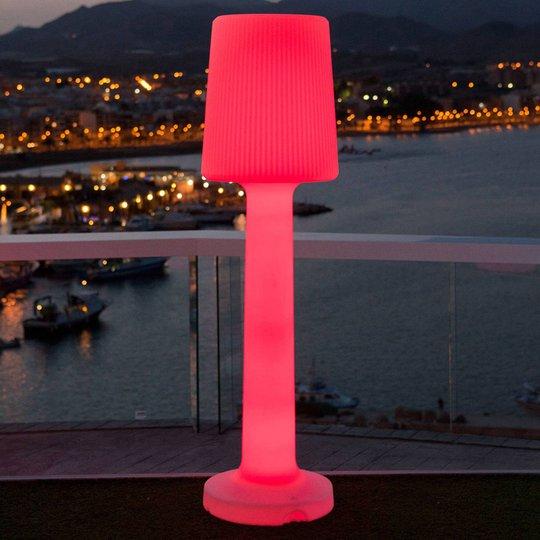 Newgarden Carmen gulvlampe m. batteri høyde 110 cm