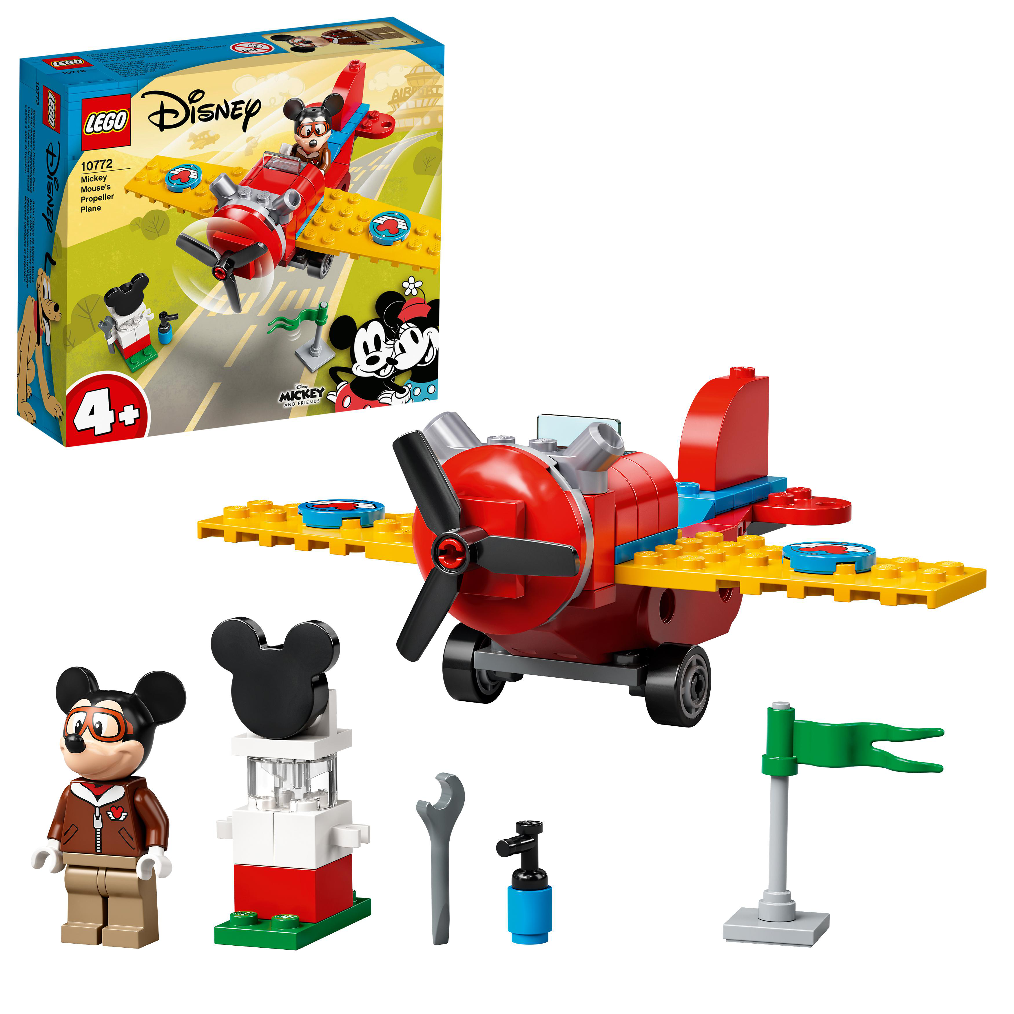 LEGO Mickey Mouse - Mickey Mouse's Propeller Plane (10772)