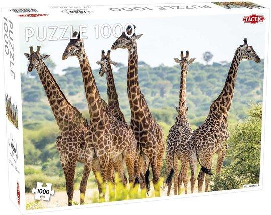 Tactic Puslespill Tall Giraffes 1000 brikker