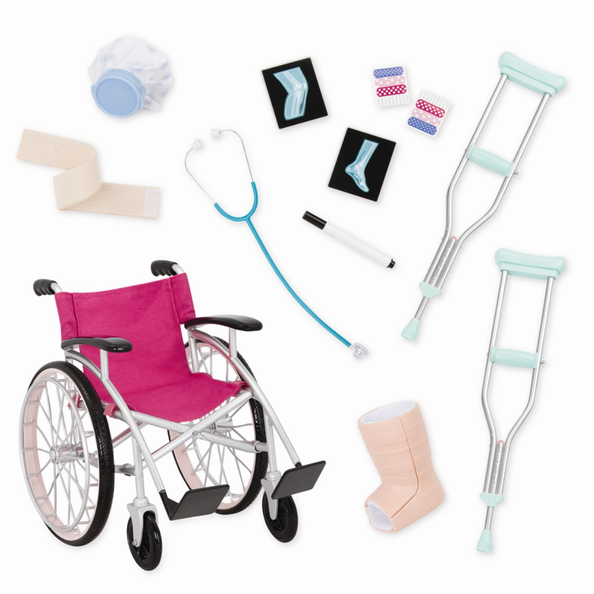 Our Generation - Hospital Set with Wheelchair (737988)