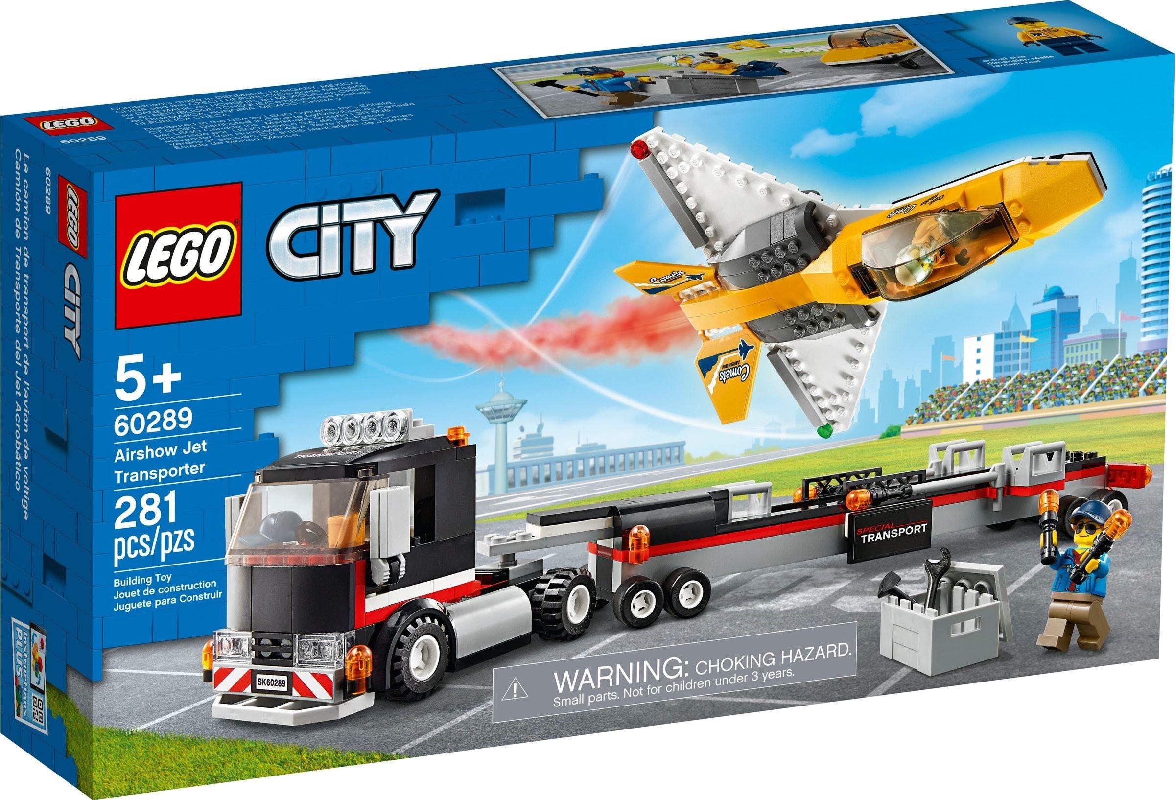 LEGO City - Airshow Jet Transporter (60289)