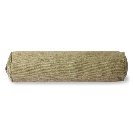 Corduroy Bolster Pute Army Green 20x70 cm