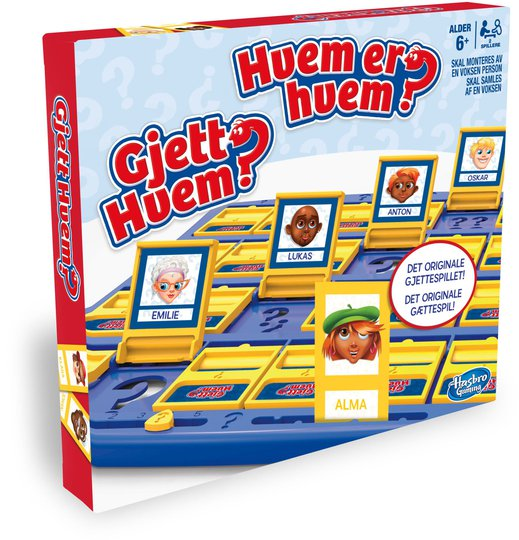 Hasbro Spill Guess Who