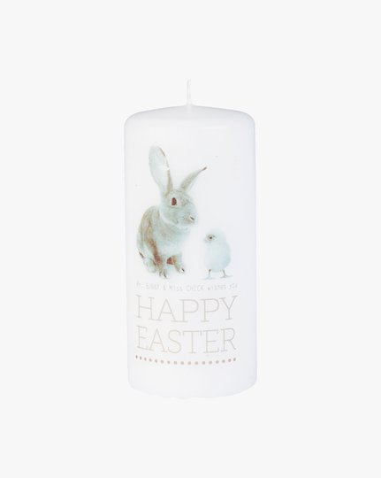 Pöytäkynttilä, Happy Easter
