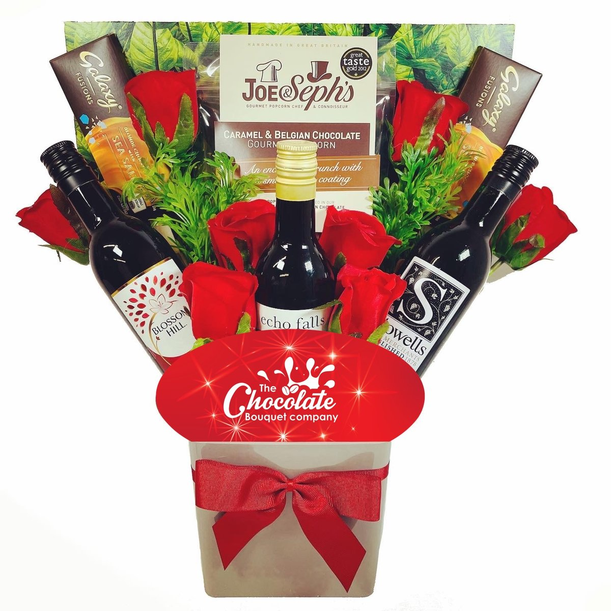 The Red Wine Lovers & Chocolates Bouquet