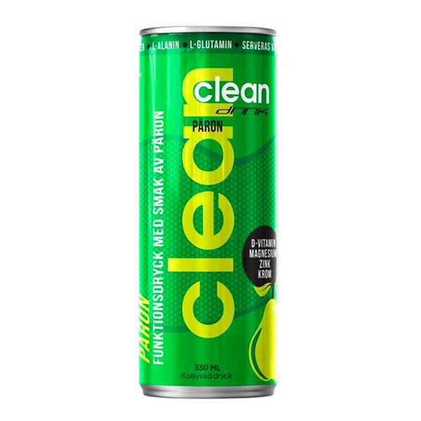 Clean Drink Päron - 1-pack
