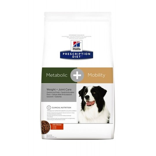 Hill's Prescription Diet Canine Metabolic + Mobility Weight + Joint Care Chicken (4 kg)
