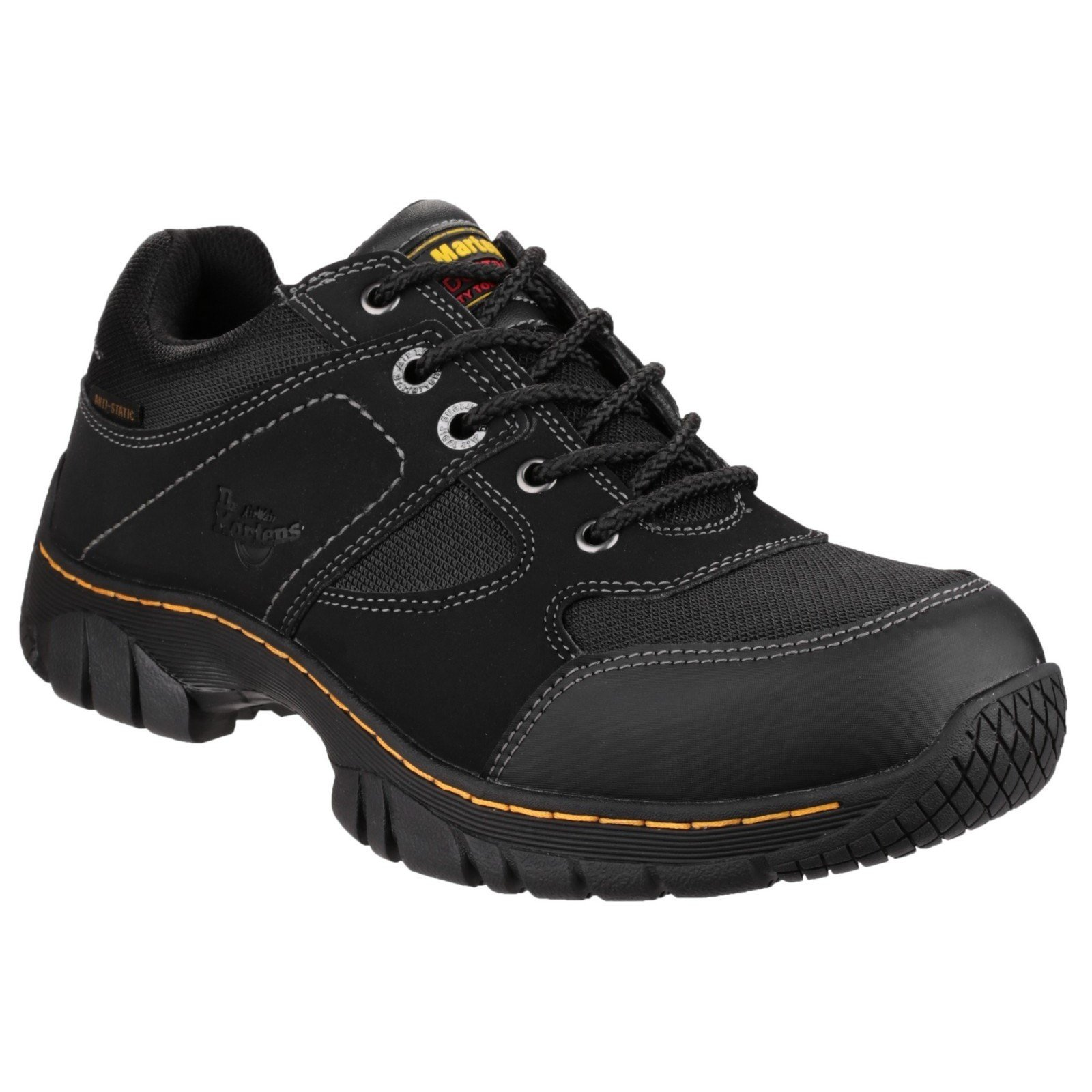 Dr Martens Unisex Gunaldo Safety Trainer Black 21648 - Black 13