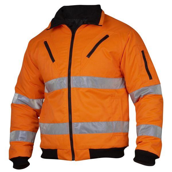 Top Swede 5016 Pilotjacka varsel, orange Strl XS