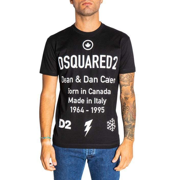 Dsquared2 - Dsquared2 Men T-Shirt - black XS