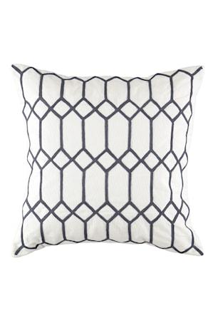 Kuddfodral Ametist 50x50 cm Ombreblå