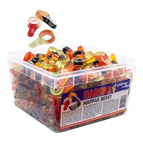 Nappar Berry Lösvikt i Burk - 2.3 kg