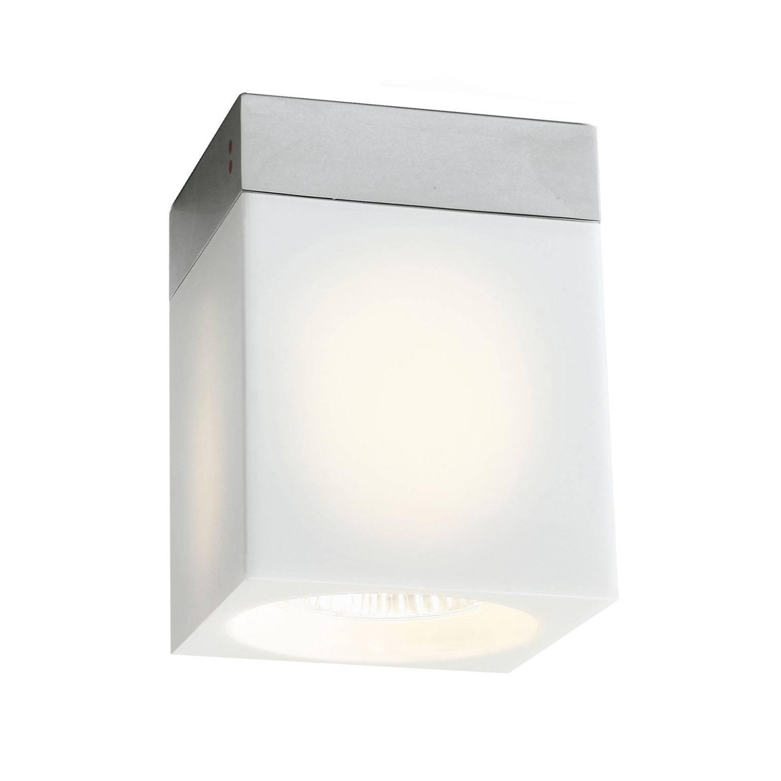 Cubetto taklampe 1lyskilde, hvit
