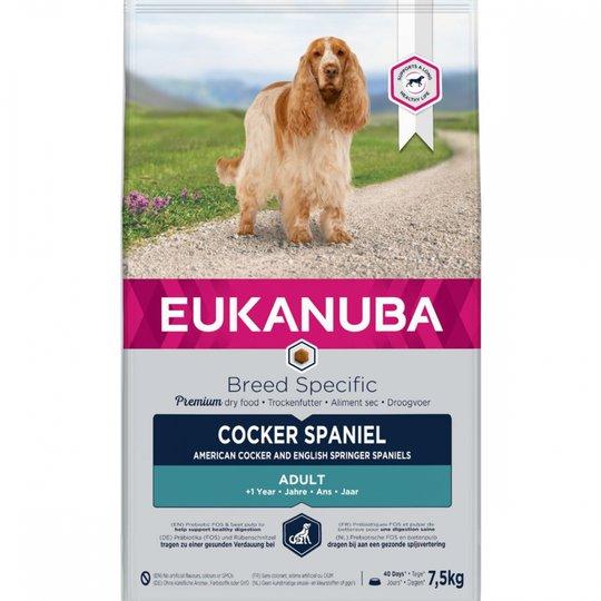 Eukanuba Dog Breed Specific Cocker Spaniel (7,5 kg)