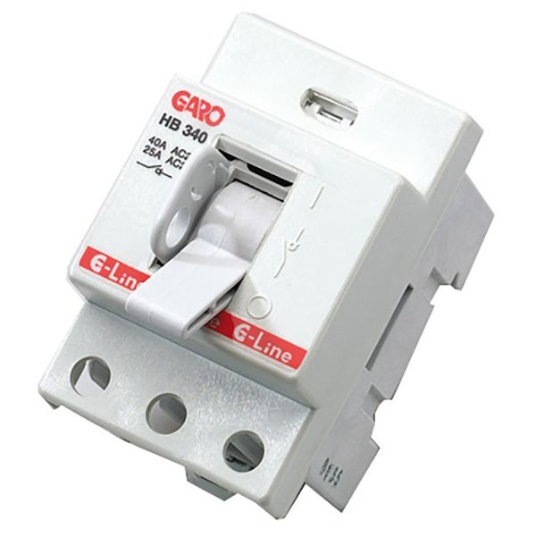 Garo HB 340 Hovedbryter 40 A, 3-polet Uten kabel