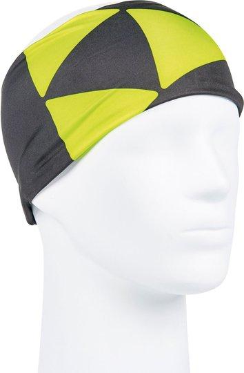 Fischer Headband Oberstorf Pannebånd, Black/Yellow