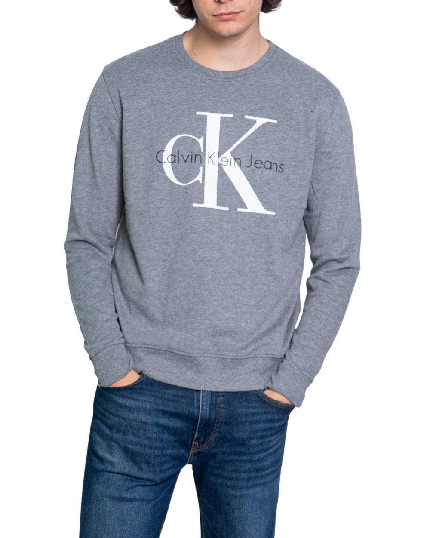 Calvin Klein Jeans Men's Sweatshirt Various Colours 188994 - grey XL