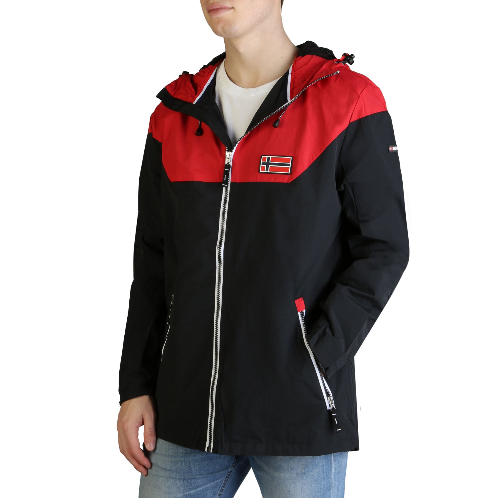 Geographical Norway Men's Afond_man Jacket Various Colours - red S