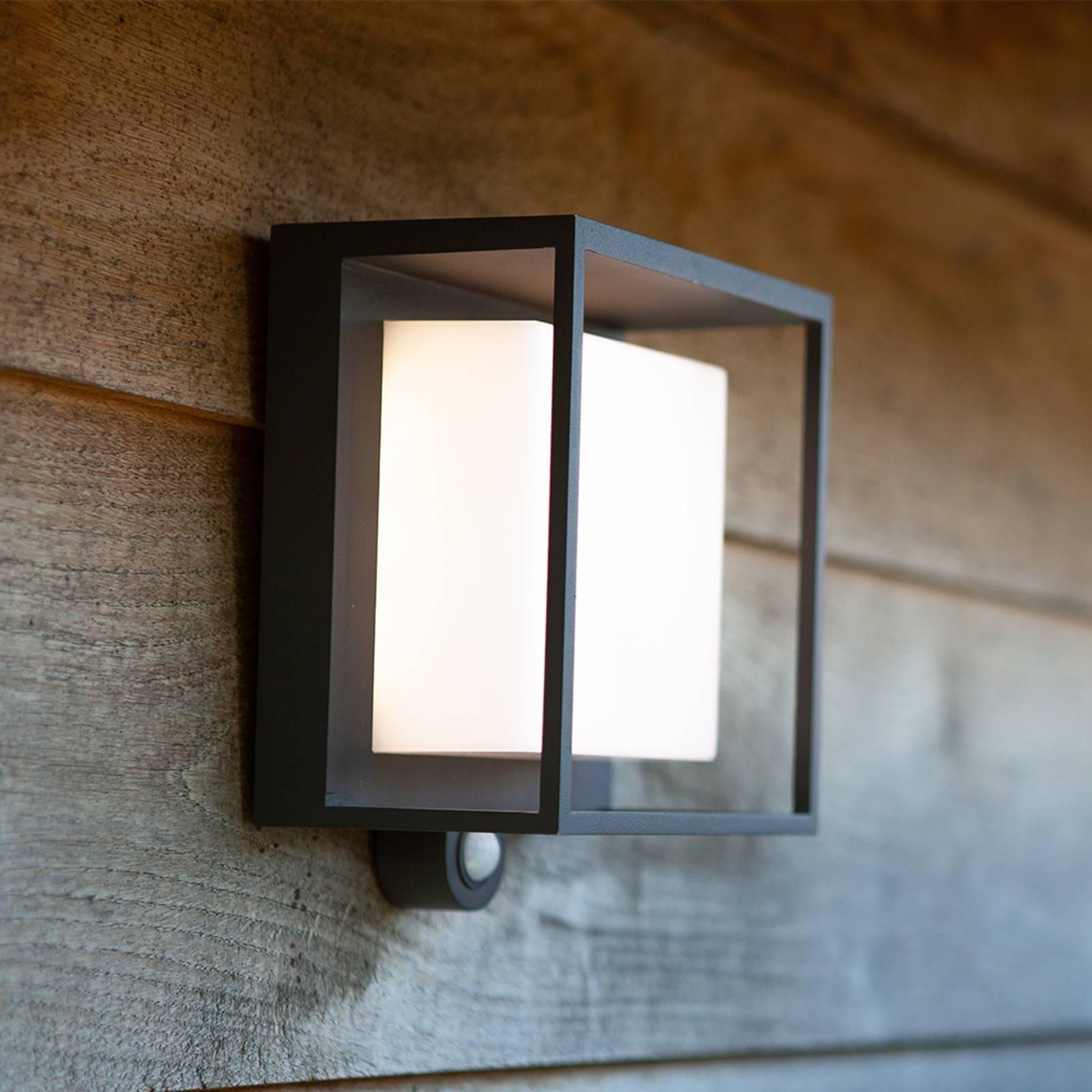 Aurinkokäyttöinen LED-valaisin Curtis tunnistin